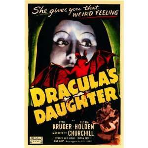 Draculas Daughter Movie Poster (11 x 17 Inches   28cm x 44cm) (1949
