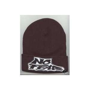 NO FEAR Beanie HAT SKI CAP Black NEW