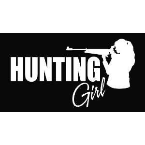 Hunting Girl Vinyl Decal Sticker