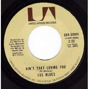 God Help Me/Aint That Loving You (VG+ 45 rpm): Los Blues