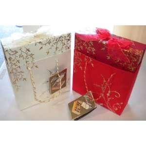Gudrun Holiday Christmas Gift Chocolate 18.2 oz x 2 (Red bag & White