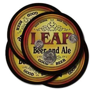 Leap Beer and Ale Coaster Set: Kitchen & Dining