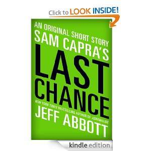 Sam Capras Last Chance Jeff Abbott  Kindle Store