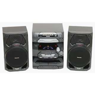 Panasonic SC AK17 Compact Stereo System Electronics