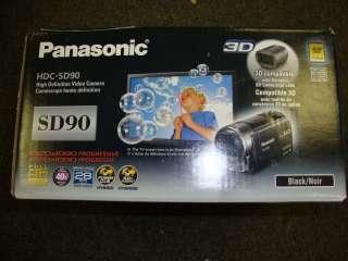 SD90 3D Compatible SD Memory Camcorder (Black) (885170040151)