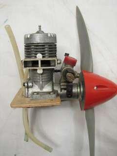FOX 25 MODEL RC AIRPLANE ENGINE W/ PROP MOTOR
