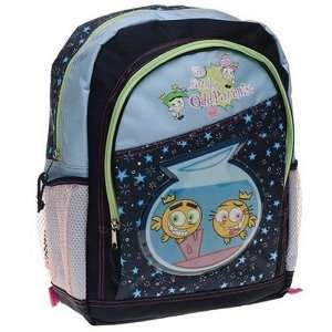 Fairly Odd Parents Backpack   Dk. Blue Toys & Games