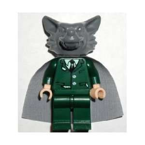 LEGO HARRY POTTER MINI FIGURE   PROFESSOR LUPIN WEREWOLF HEAD:
