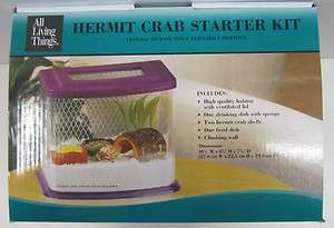 ALL LIVING THINGS HERMIT CRAB HABITAT KIT, NEW