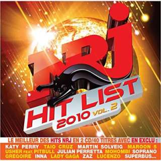 NRJ HIT LIST 2010 VOL.2 (2CD)   Achat / Vente COMPILATION NRJ HIT LIST