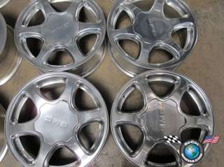 07 GMC Sierra Yukon Denali Factory 17 Polished Wheels OEM Rims 5132
