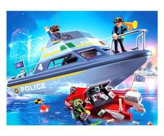 Playmobil   Police Boat 4429