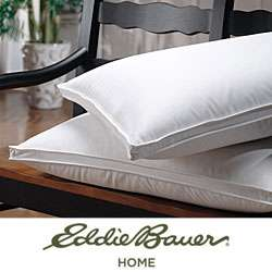 Eddie Bauer 350 Thread Count Jumbo size White Goose Down Pillow