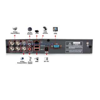 The package DVR6404 S4D includes a 4 channel standalone DVR with 4