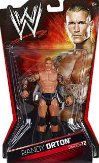 RANDY ORTON WWE SERIES 12 TOY WRESTLING ACTION FIGURE