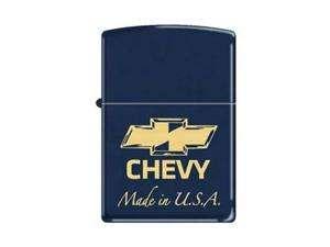 Zippo Limited Chevy Blue Matte Zippo Lighter