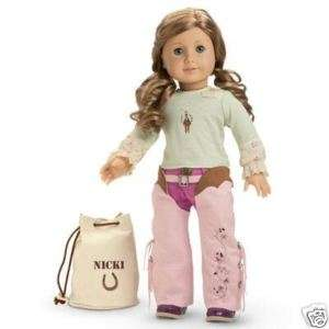 AMERICAN GIRL DOLL NICKI Nickis RANCH OUTFIT ag