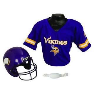Franklin Sports NFL Vikings Helmet/Jersey Set.Opens in a new window