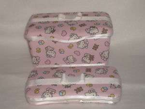 HELLO KITTY Boutique Baby Wipe Case and Travel Case 2pc