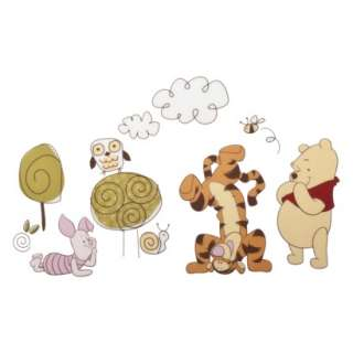 Disney Friendship Pooh Wall Decals.Opens in a new window