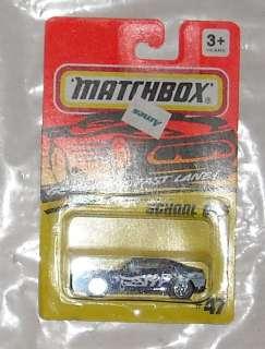 1994 MATCHBOX SCHOOL BUS #47 diecast MOC oss ERROR
