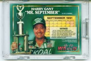 *MINT* Harry Gant. These are a rare find in that they are buybacks