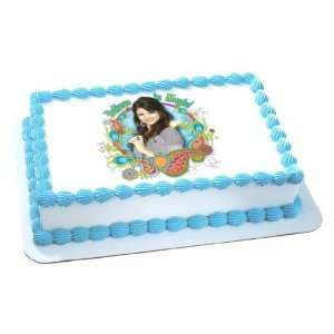 Wizards of Waverly Place Birthday Cake Decoration   Edible Icing