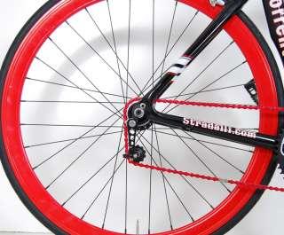 STRADALLI SORRENTO FULL CARBON MESSENGER 1 SPD BIKE MSGR BICYCLE 56 cm