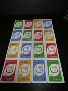 New Hello Kitty UNO Playing Cards Family Game 108 Poker