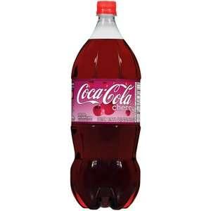 Cherry Coke Cola, 2 l Beverages