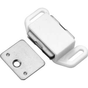 Hickory Hardware P110 W White Cabinet Door Catches