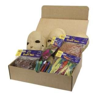 Chenille Kraft Company Papier Mache Masks Activity Box Crafts