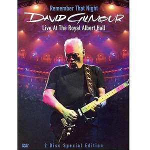 Live At The Roual Albert Hall (Music DVD), David Gilmour Music DVDs