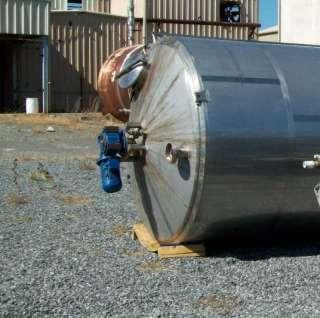 3000 gallon Stainless Steel Cooking Oil BIO Diesel Process Tank w