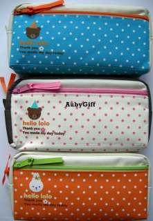 Bunny / Bear Beauty Cosmetic / MakeUp Bag / Pencil Pen Case / Pouch