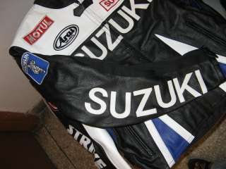 Joe Rocket Suzuki Superbike Leather Jacket Black All Sizes