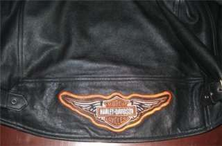 Harley Davidson Leather Jacket Independence 98125 05VM Large