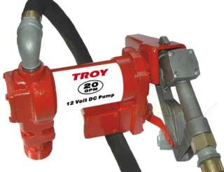 20 GPM 12V Heavy Duty Fuel Diesel Gas Transfer Pump   12 Volt