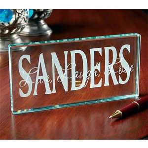 Personalized Live, Laugh, Love Glass Block Personalized Gifts