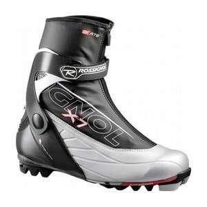 Rossignol X7 Skate Cross Country Ski Boots Black/Silver