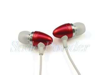soda powder stereo in ear headsets handsfree with microphone for apple