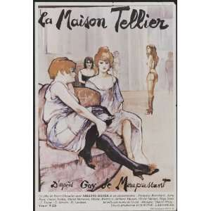Poster (27 x 40 Inches   69cm x 102cm) (1981) French  (Catherine Jacob