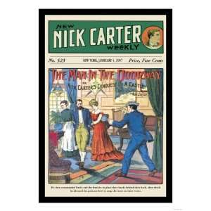 Nick Carter A Man in the Doorway Giclee Poster Print, 9x12