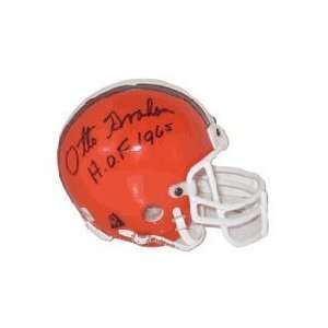 Otto Graham, Cleveland Browns Autographed Riddell Authentic Mini