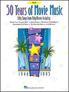 50 Years Movie Music   Flute Solo Sheet Song Book NEW
