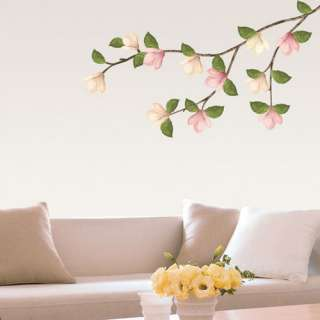 Magnolia Flowering Tree Wall STICKER Removable Decal