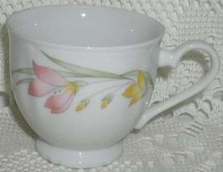 Fine Porcelain China Japan French Garden Tea Coffee Cup