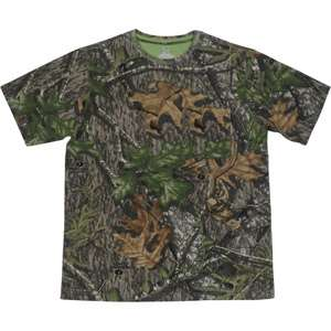Mossy Oak Obsession Short Sleeved Camo Tee Hunting