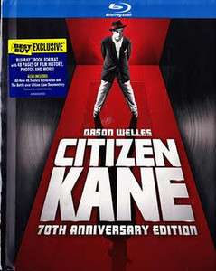 Citizen Kane Blu Ray DigiBook Best Buy exclusive NEW & SEALED