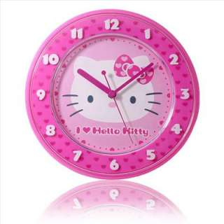 Hello Kitty Wall Clock Desk Clock Face Pink Sanrio